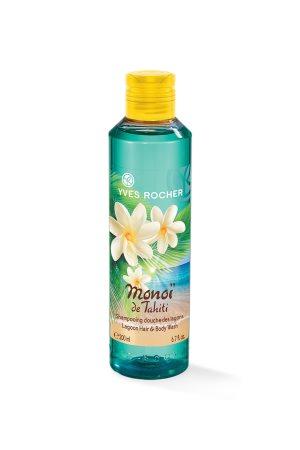 Yves Rocher Monoï de Tahiti Lagoons Hair And Body Wash 150 ml