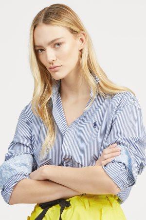 Polo Ralph Lauren γυναικείο ριγέ πουκάμισο boyfriend fit
