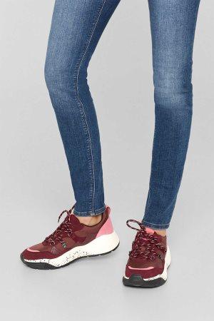Esprit γυναικεία sneakers με με φαρδιά σόλα