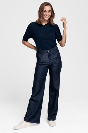 Gant γυναικείο jean παντελόνι flared (32L)