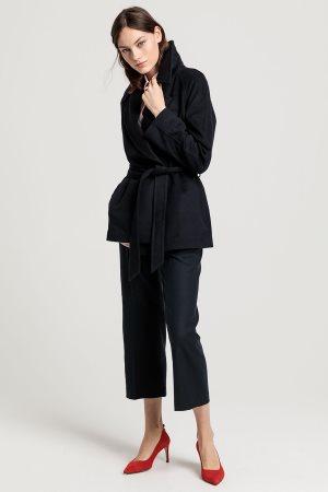 """Gant γυναικείο παλτό μάλλινο """"Wrap Coat"""""""