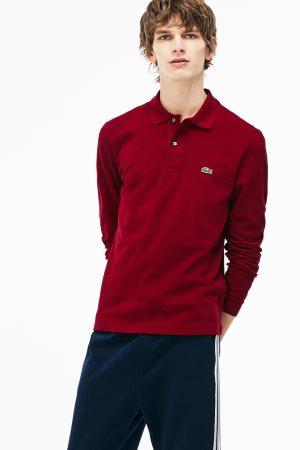 Lacoste ανδρική μπλούζα Polo L.12.12 με μακρύ μανίκι