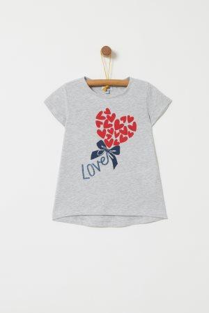 OVS παιδικό T-shirt με lettering love