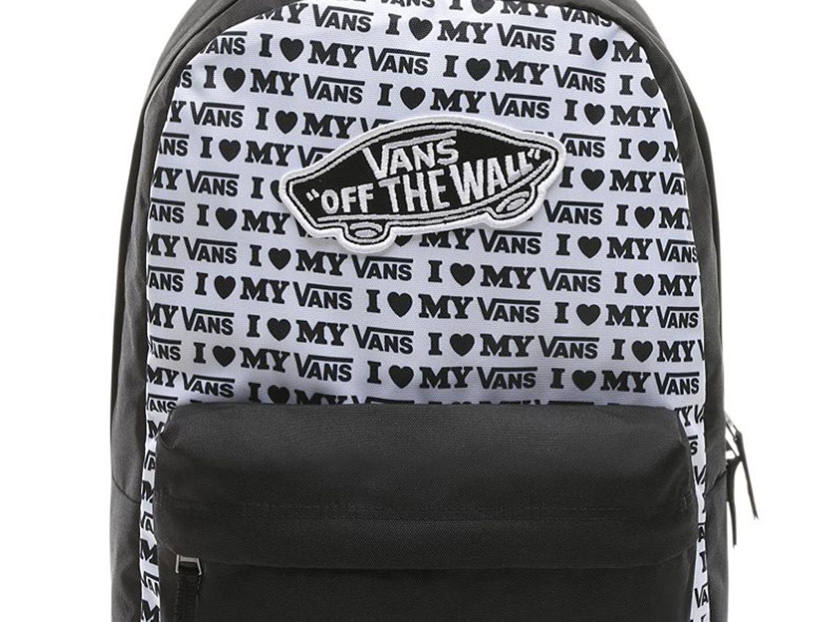 c93d7152fbd VANS | Vans σακίδιο πλάτης με logo print I Love My Vans Realm Backpack Μαύρο  | notos