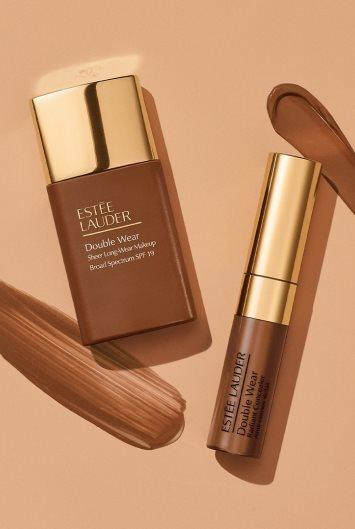 Estée Lauder Double Wear Sheer Long-Wear Makeup SPF 20 5W2 Rich Caramel