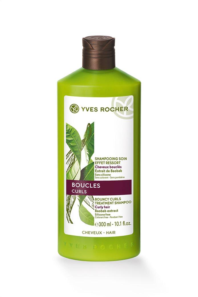 Yves Rocher Botanical Hair Care Bouncy Curls Treatment Shampoo 300 ml 0