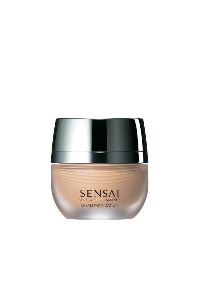 Sensai Cellular Performance Cream Foundation CF 22 Natural Beige SPF 15 30 ml 0