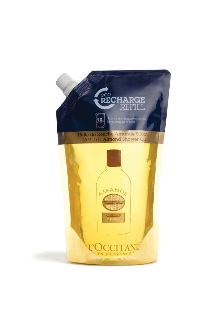 L'Occitane En Provence Almond Shower Oil Eco Refill 500 ml  0