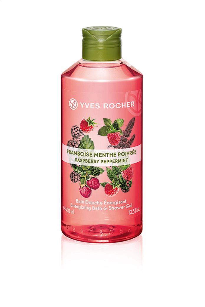 Yves Rocher Energizing Bath and Shower Gel Raspberry Peppermint 400 ml 0