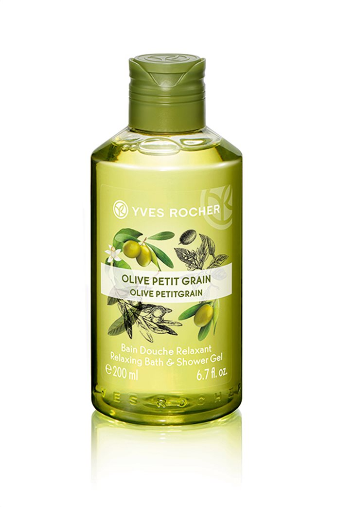 Yves Rocher Relaxing Bath and Shower Gel Olive Petitgrain 200 ml 0