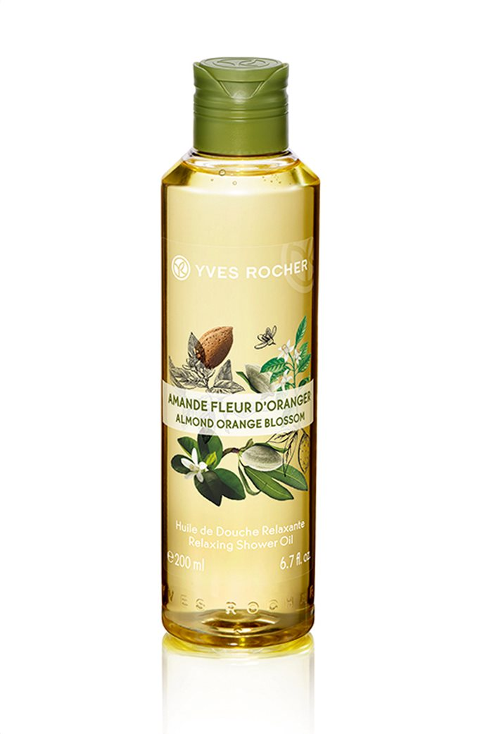 Yves Rocher Relaxing Shower Oil Almond Orange Blossom 200 ml 0