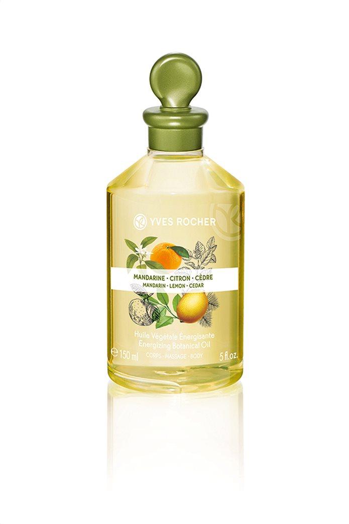 Yves Rocher Energizing Botanical Oil Mandarin Lemon Cedar 150 ml 0