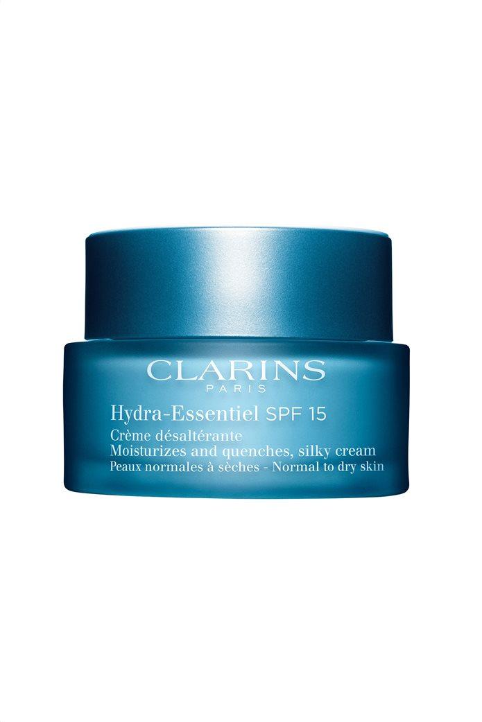 Clarins Hydra Essentiel Silky Cream SPF 15 Normal to Dry Skin 50 ml 0