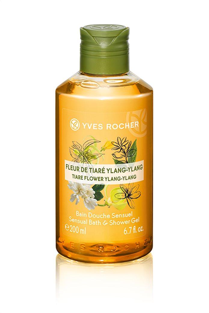 Yves Rocher Sensual Shower Gel Tiaré Flower Ylang Ylang 200 ml 0