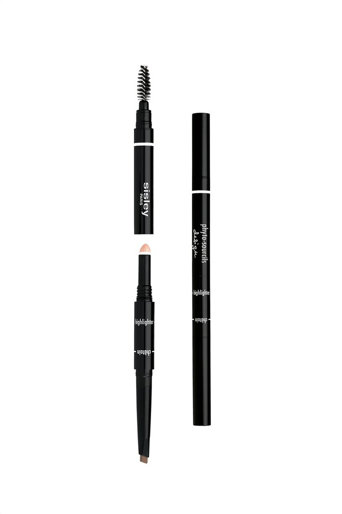 Sisley Phyto Sourcil Design 3-in-1 Architect Pencil 1 Cappuccino 0,2 gr. 0