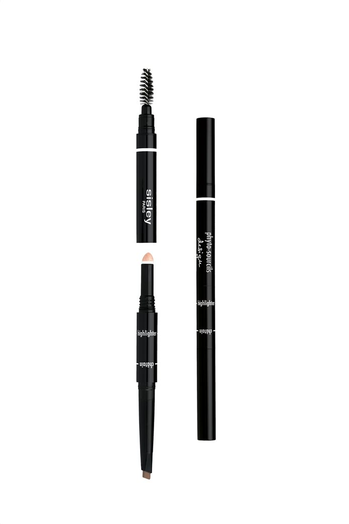 Sisley Phyto Sourcil Design 3-in-1- Architect Pencil 3 Brun 0,2 gr. 0