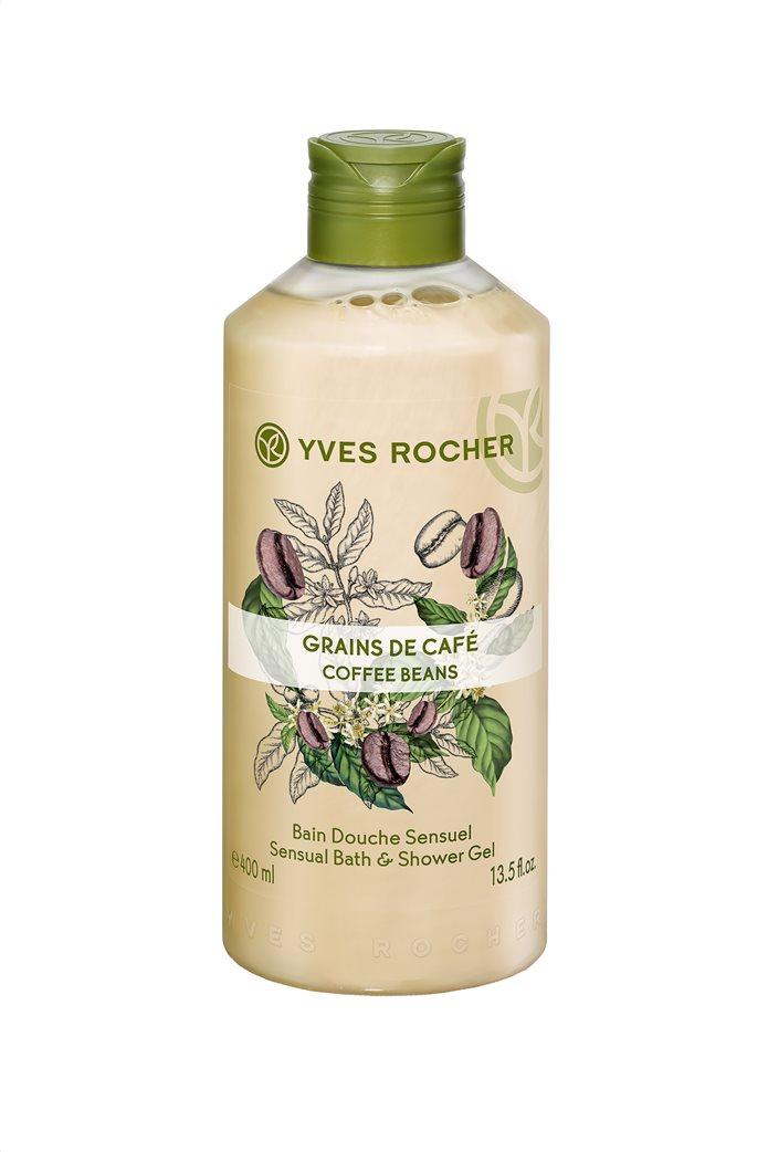 Yves Rocher Sensual Bath and Shower Gel Coffee Beans 400 ml 0