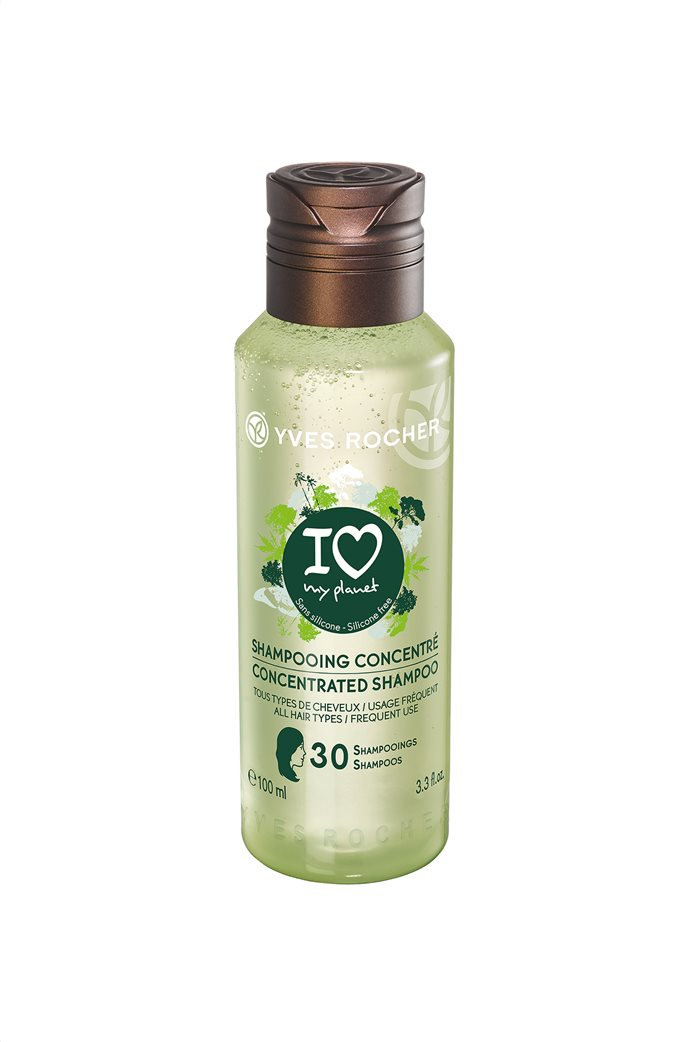 Yves Rocher Botanical Hair Care I Love My Planet Concentrated Shampoo 100 ml 0