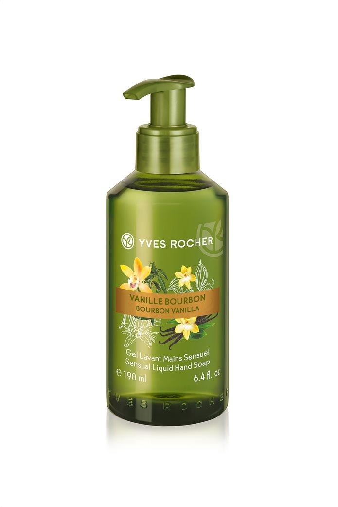 Yves Rocher Sensual Liquid Hand Soap Bourbon Vanilla 190 ml 0