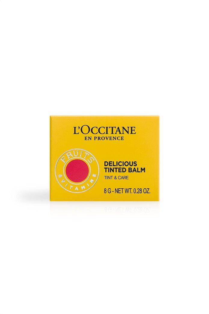 L'Occitane En Provence Delicious Tinted Balm 3 Pink Calisson 8 gr  4