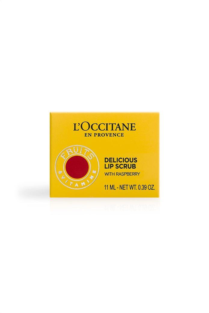 L' Occitane En Provence Delicious Lip Scrub 020 Raspberry Crush 11 ml 4