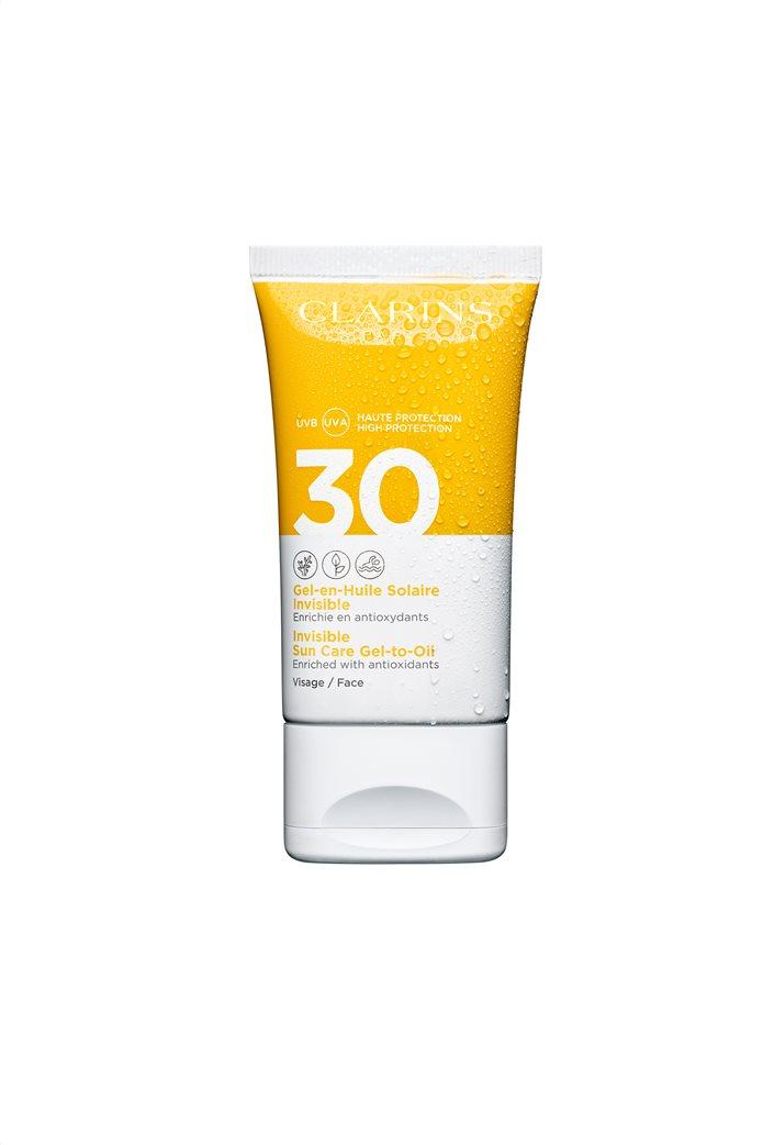 Clarins Invisible Suncare Gel-To-Oil Face UVA/UVB 30 50 ml  0
