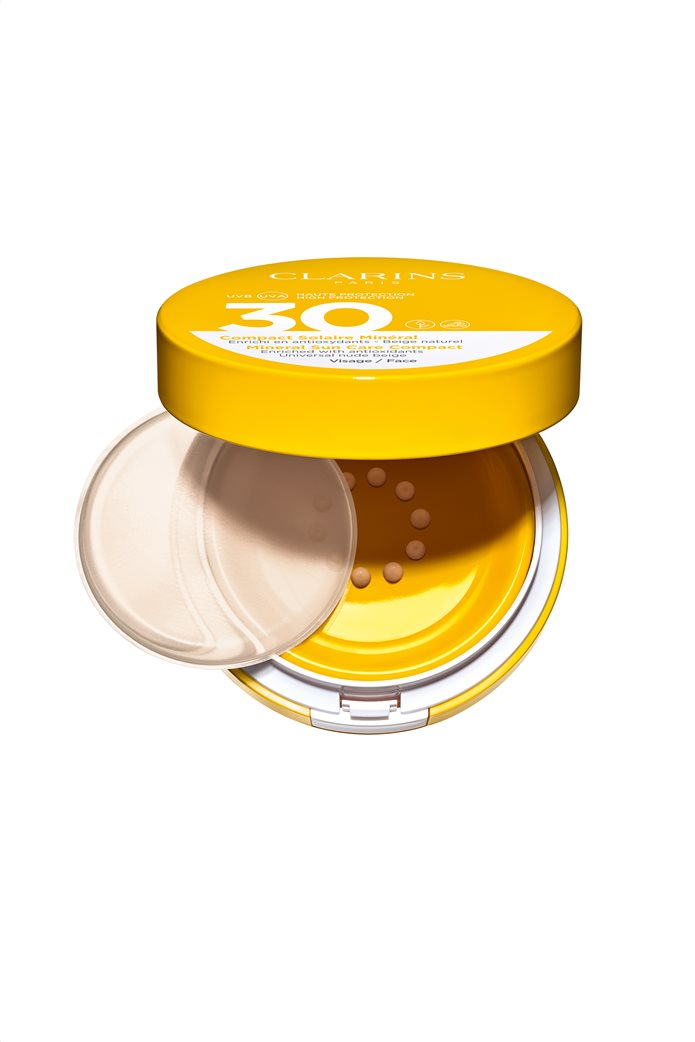 Clarins Mineral Sun Care Compact Face UVA/UVB 30 Nude Beige 11,5 ml 0