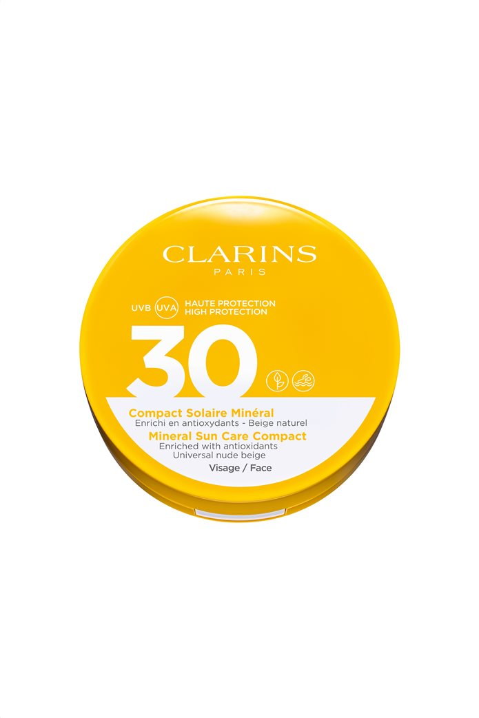 Clarins Mineral Sun Care Compact Face UVA/UVB 30 Nude Beige 11,5 ml 1