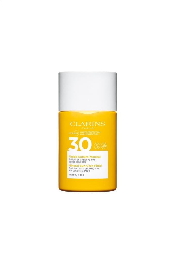 Clarins Mineral Suncare Fluid Face UVA/UVB 30 30 ml 0