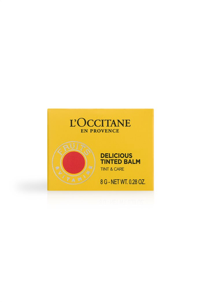 L'Occitane En Provence Delicious Tinted Balm 2 Miss  Grenadine 8 gr 4