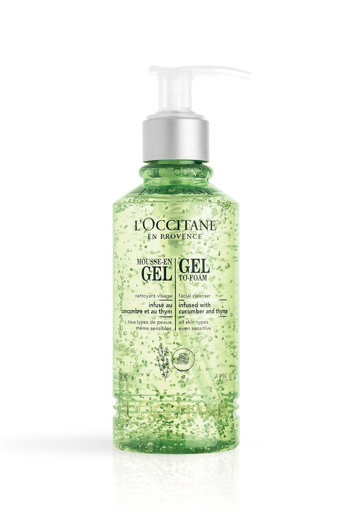 L'Occitane Gel To-Foam Facial Cleanser 200 ml  0
