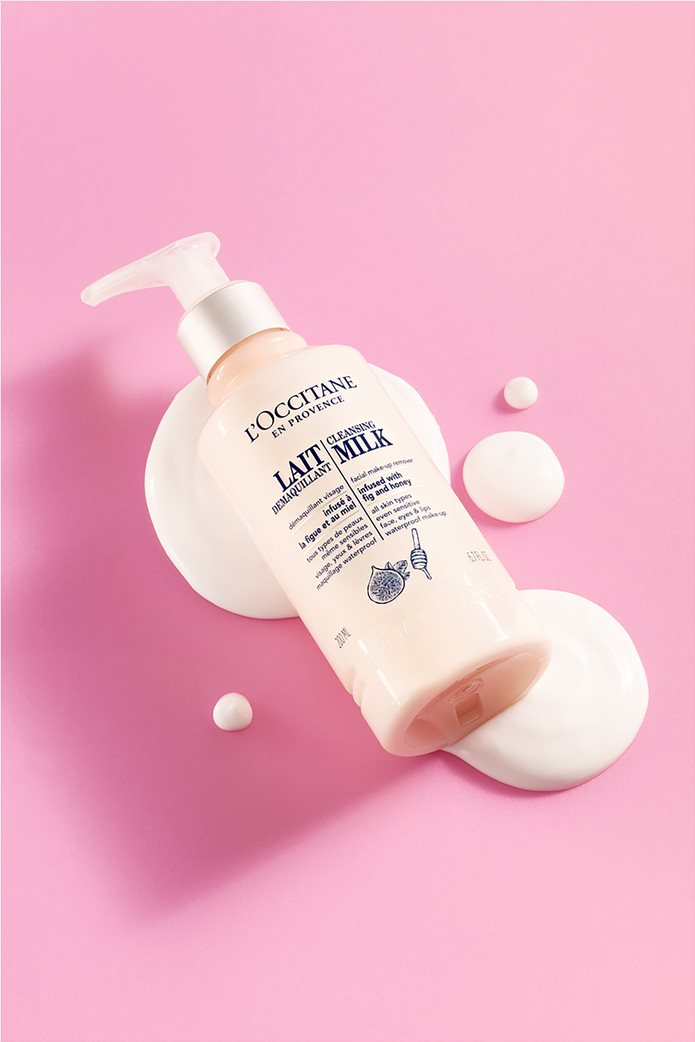 L'Occitane Cleansing Milk Facial Make-up Remover 200 ml  1