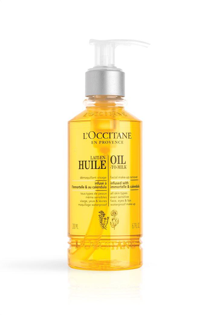 L'Occitane Oil-To-Milk Facial Make-up Remover 200 ml  0