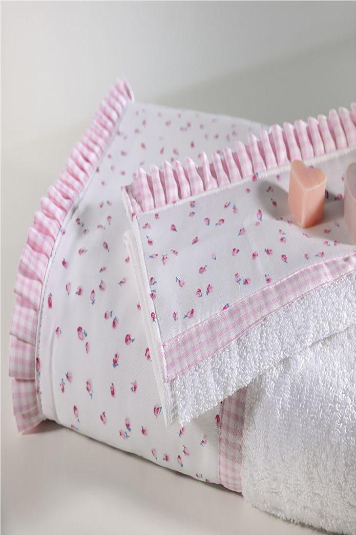 DOWN TOWN Home Σετ πετσέτες 319 (2 τεμάχια)   Ροζ 0