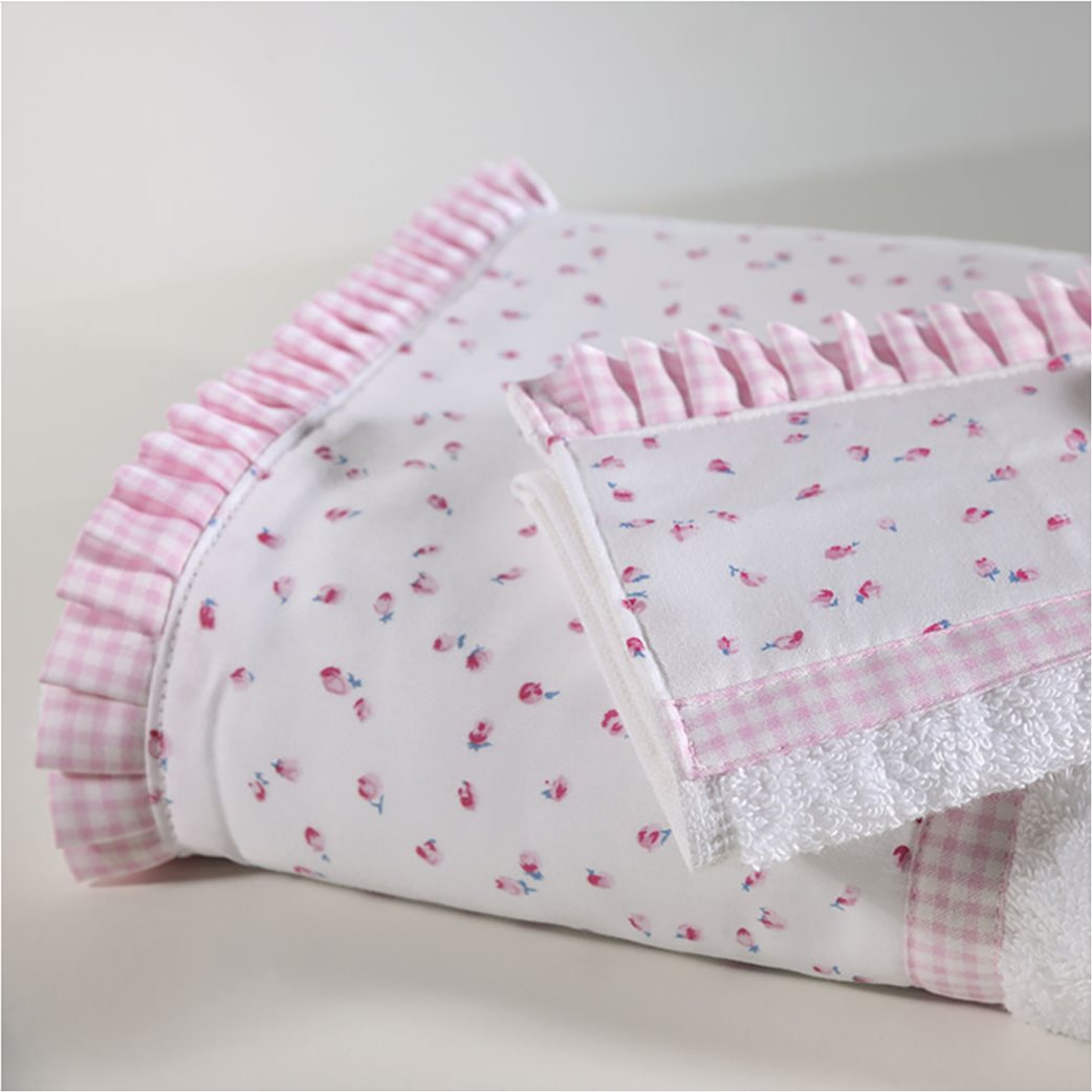 DOWN TOWN Home Σετ πετσέτες 319 (2 τεμάχια)   Ροζ 1