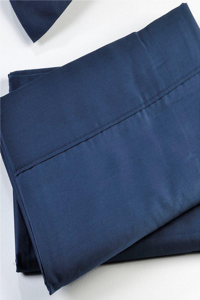 DOWN TOWN Home Σεντόνι υπέρδιπλο με λάστιχο S24 (160x200+30)   Μπλε Σκούρο 0