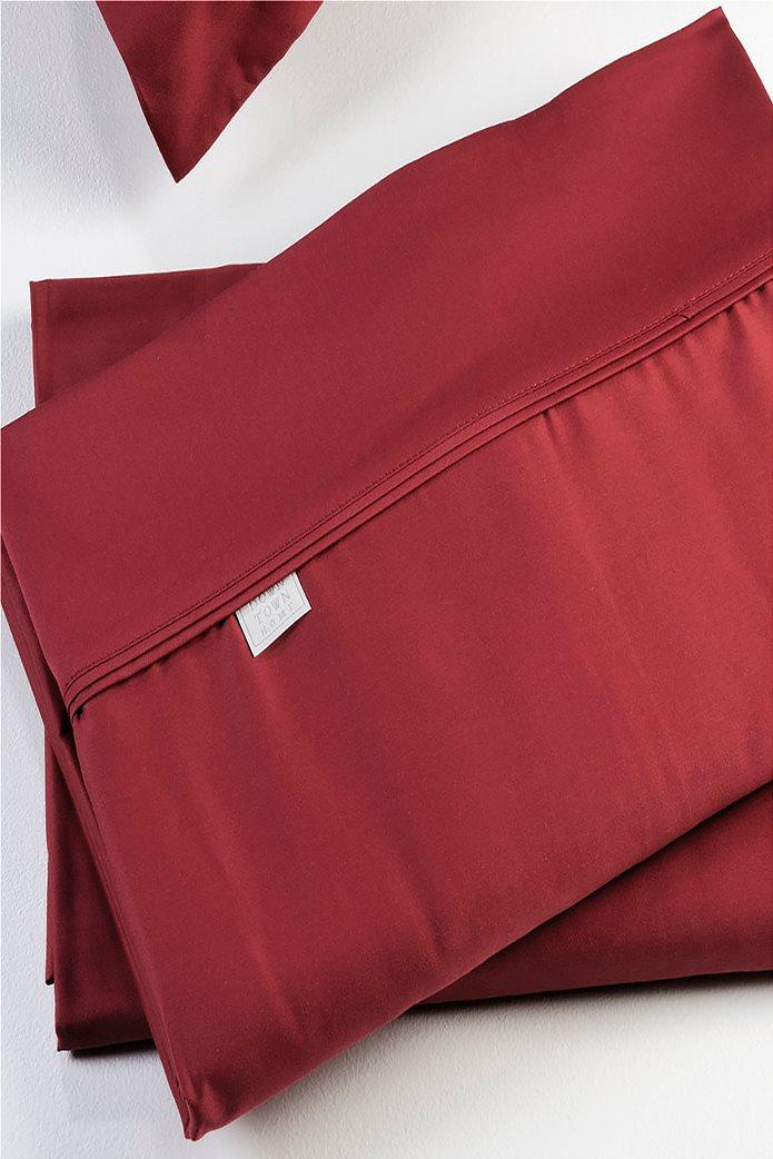 DOWN TOWN Home Σεντόνι υπέρδιπλο με λάστιχο S42 (160x200+30)   Κόκκινο 0