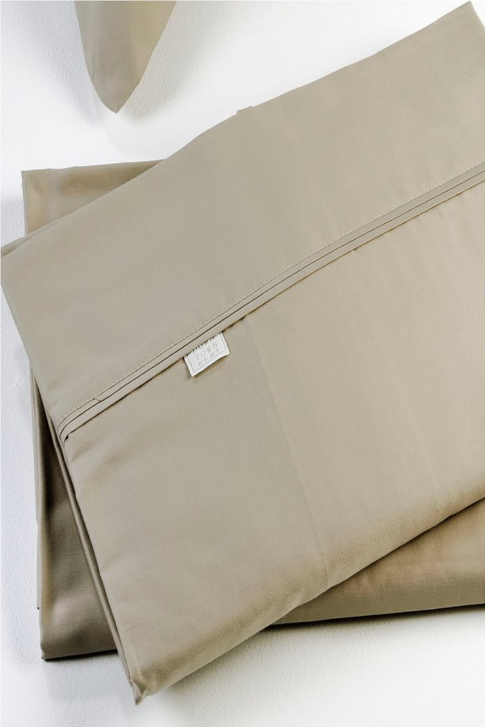 DOWN TOWN Home Σετ μαξιλαροθήκες για μαξιλάρια ύπνου S05 (2 τεμάχια)   Μπεζ 0