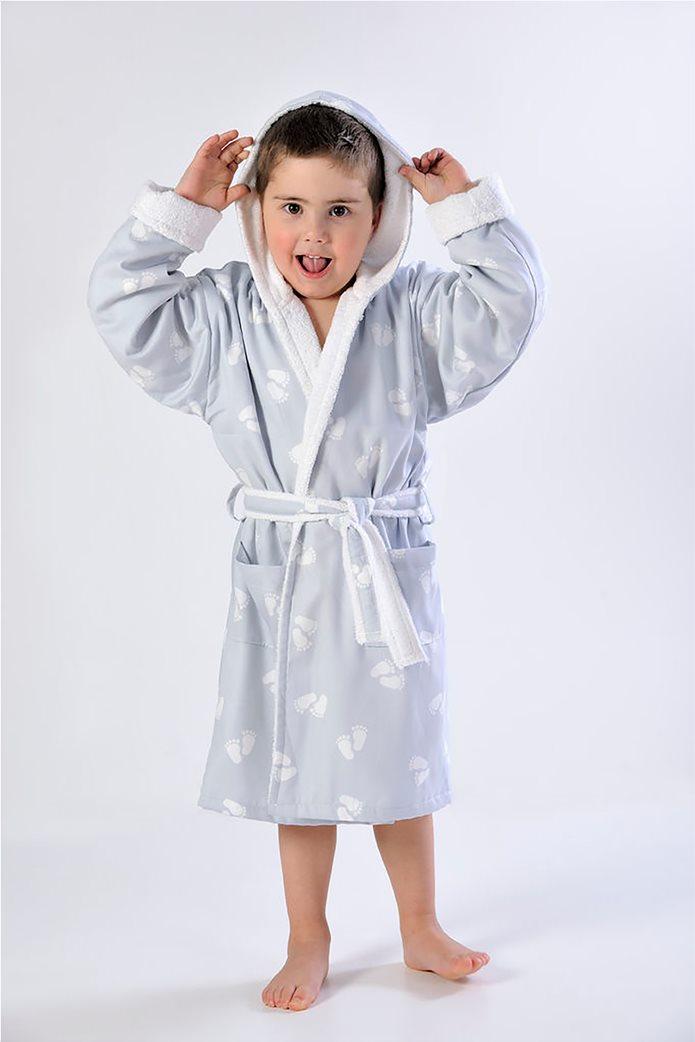 DOWN TOWN Home Παιδικό μπουρνούζι 689 (2-4 ετών) Γκρι 0