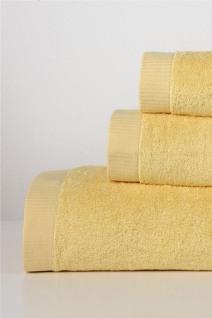 DOWN TOWN Home Σετ πετσέτες μπάνιου Lotus Yellow (3 τεμάχια)   0