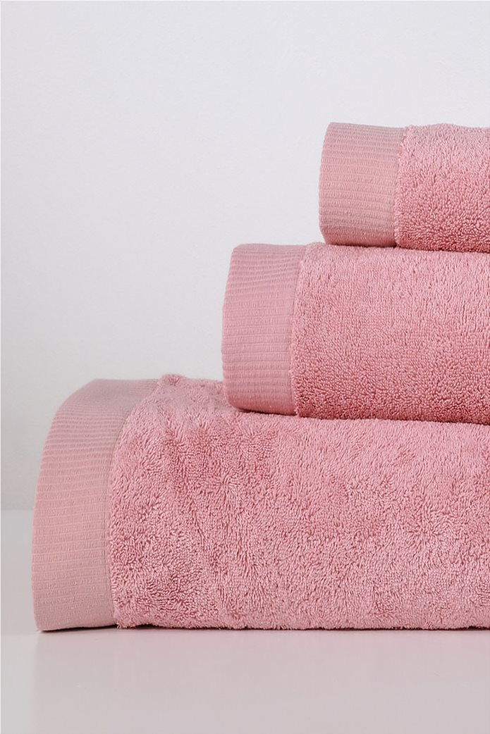 DOWN TOWN Home Σετ πετσέτες μπάνιου Lotus Rose (3 τεμάχια)   0