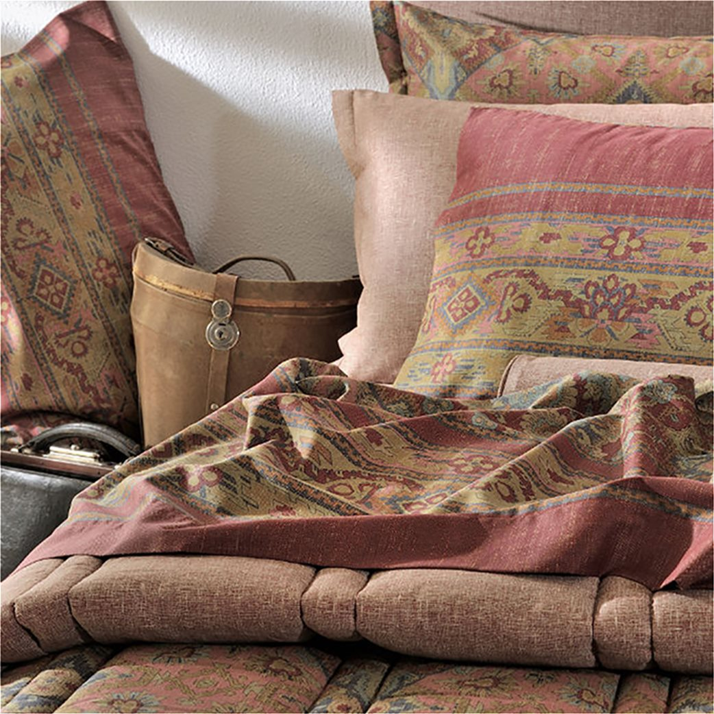 DOWN TOWN Home Σετ μαξιλαροθήκες για μαξιλάρια ύπνου727 (2 τεμάχια)   Κόκκινο 1