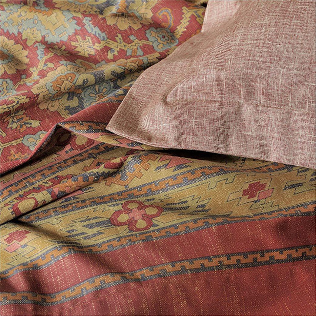 DOWN TOWN Home Σετ μαξιλαροθήκες για μαξιλάρια ύπνου727 (2 τεμάχια)   Κόκκινο 2