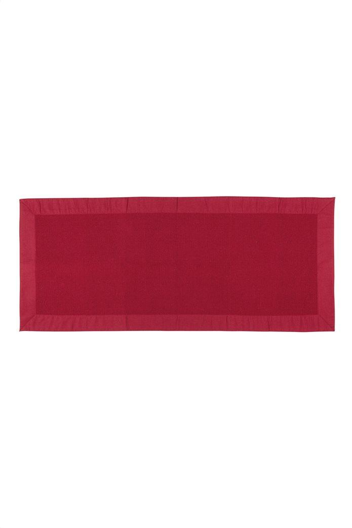 Σουπλά Zefiro κόκκινο με ribbed σχέδιο 120 x 50 cm Coincasa 0
