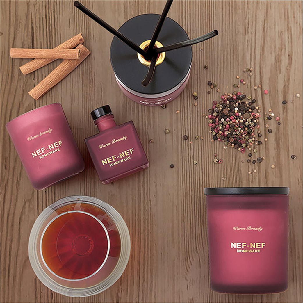 NEF-NEF Αρωματικό κερί χώρου Warm Brandy 300 γρ.   2
