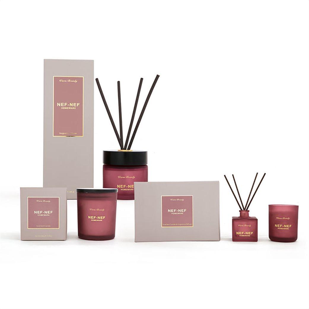 NEF-NEF Αρωματικό set χώρου (κερί και στικς) Warm Brandy  1