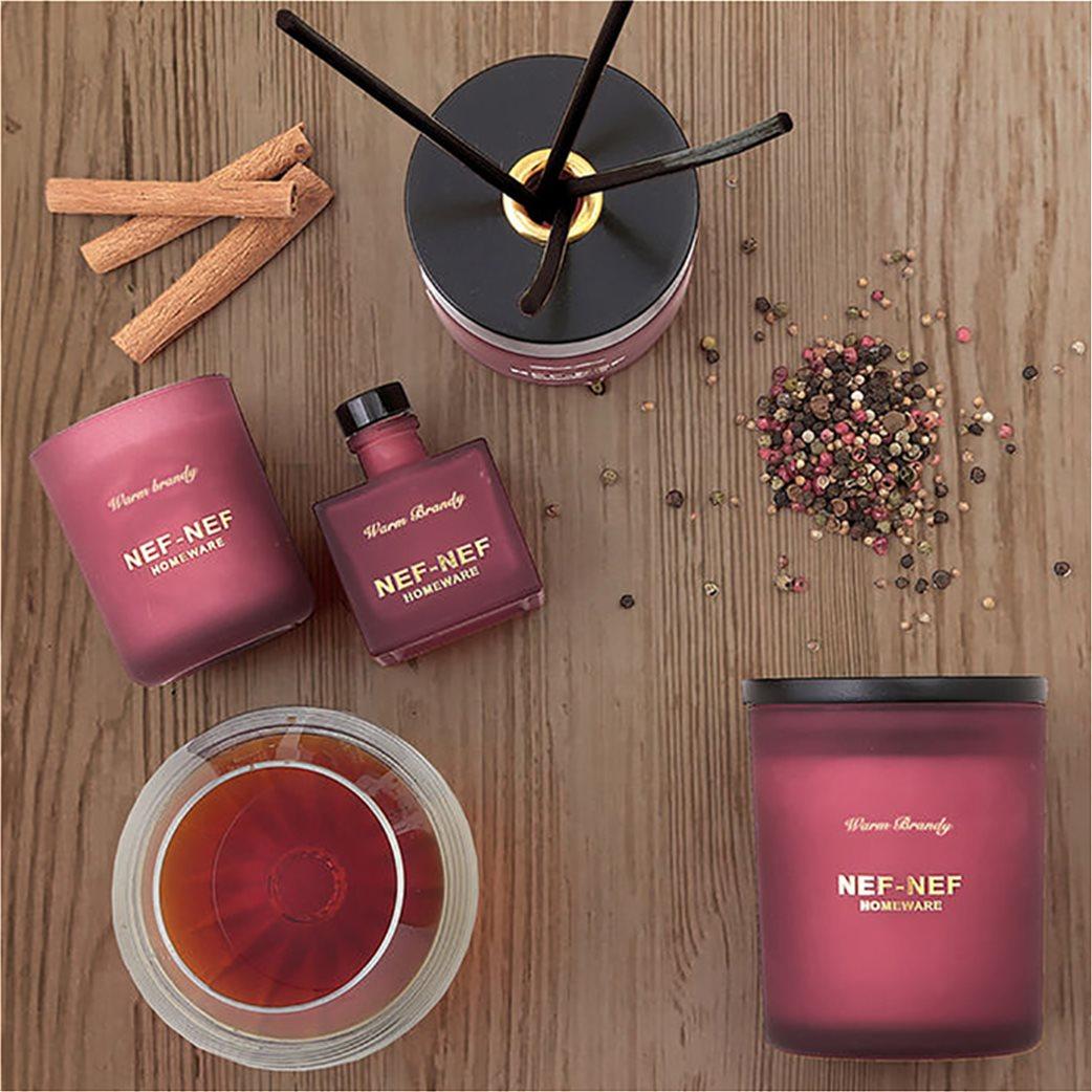 NEF-NEF Αρωματικό set χώρου (κερί και στικς) Warm Brandy  2