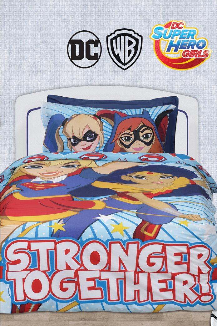 Εφηβικό σετ σεντόνια  Super Hero Girls 5005 Das home 0