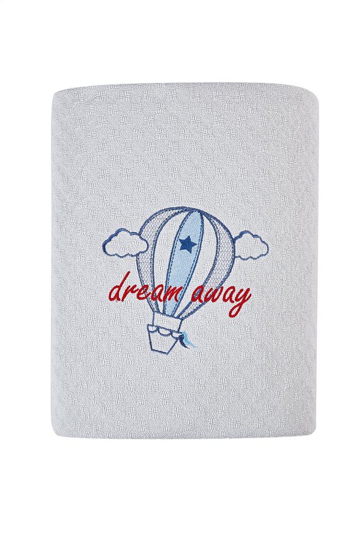"""Kentia βρεφική κουβέρτα κούνιας """"Airballon"""" 120 x 140 cm Γκρι 0"""