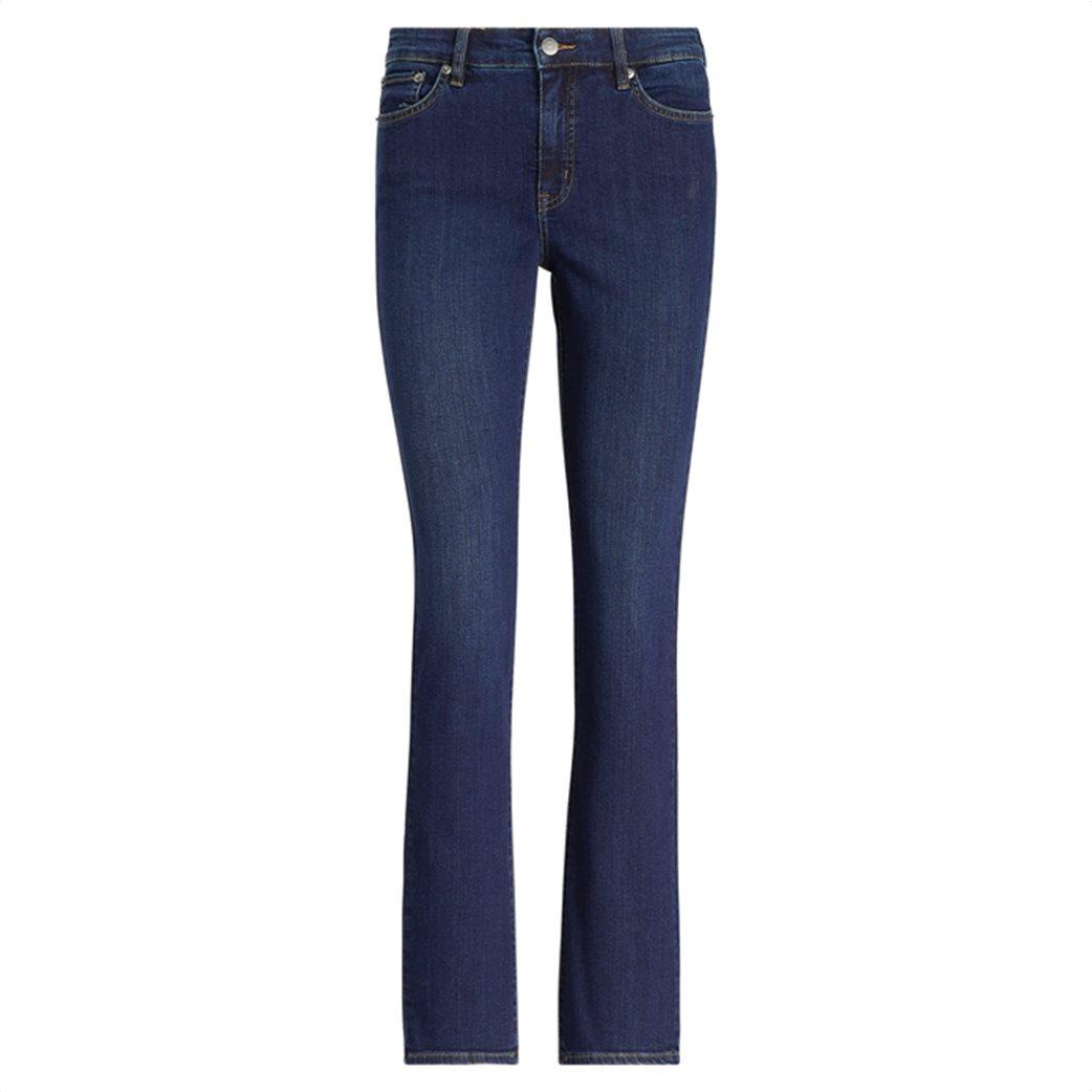 Lauren Ralph Lauren γυναικείο τζην παντελόνι Premier Straight Jean Deep Royal Μπλε Σκούρο 0